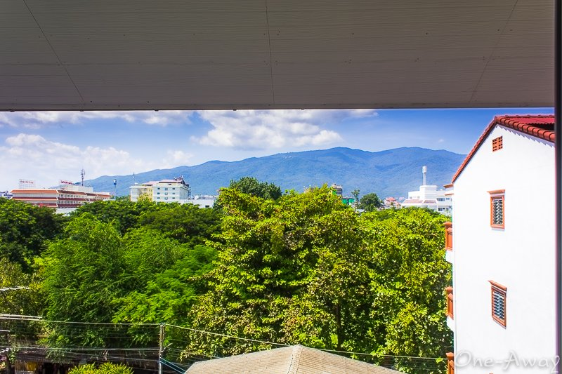 Montain View Of Doi Suthep from Puripiman Apartment