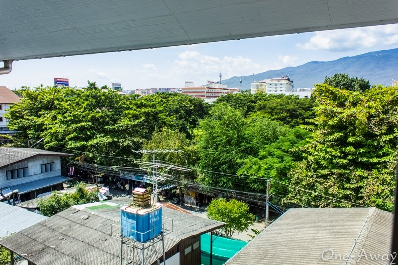 View of Doi Suthep from Puripiman Apartment 4th floor.
