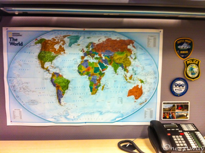 View of the world from my desk.