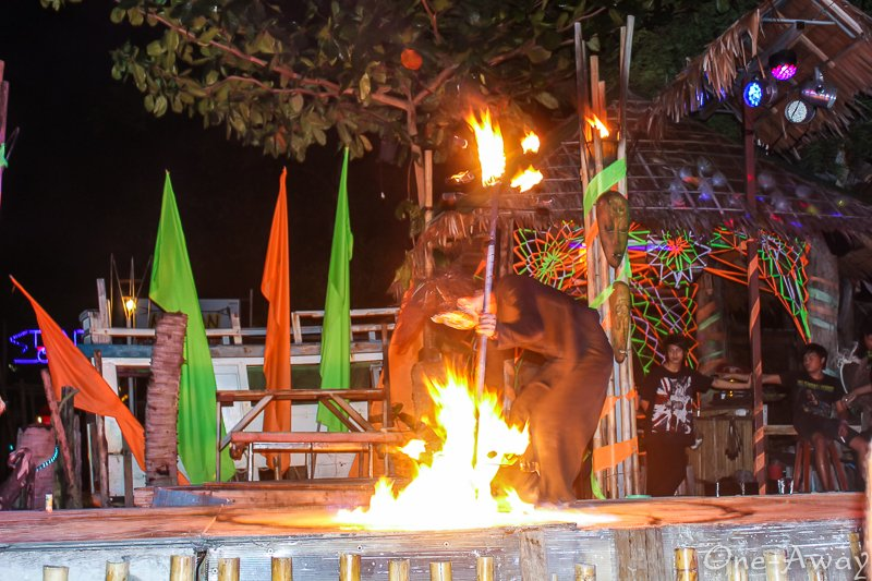 Koh Phi Phi Nightlife Fire Dance Show on Koh Phi Phi