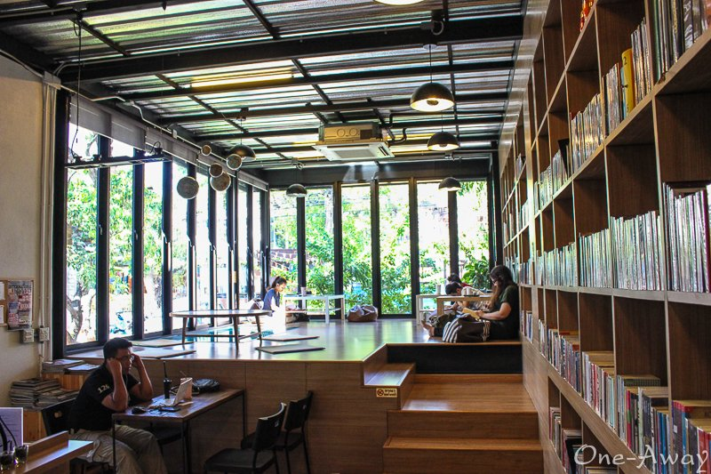 Librarista Coffee Shop Chiang Mai
