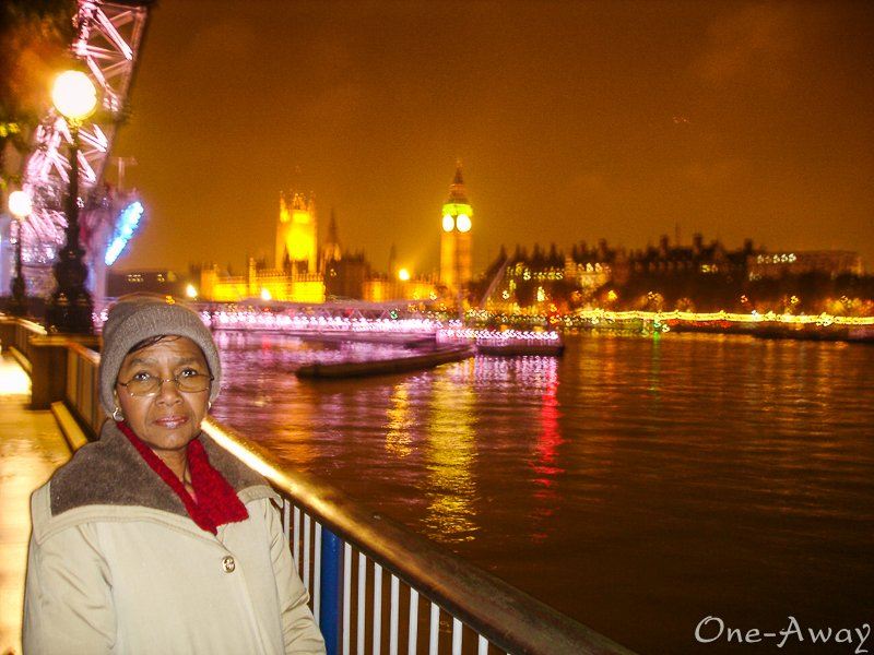 River Thames-Big Ben-London-Evening