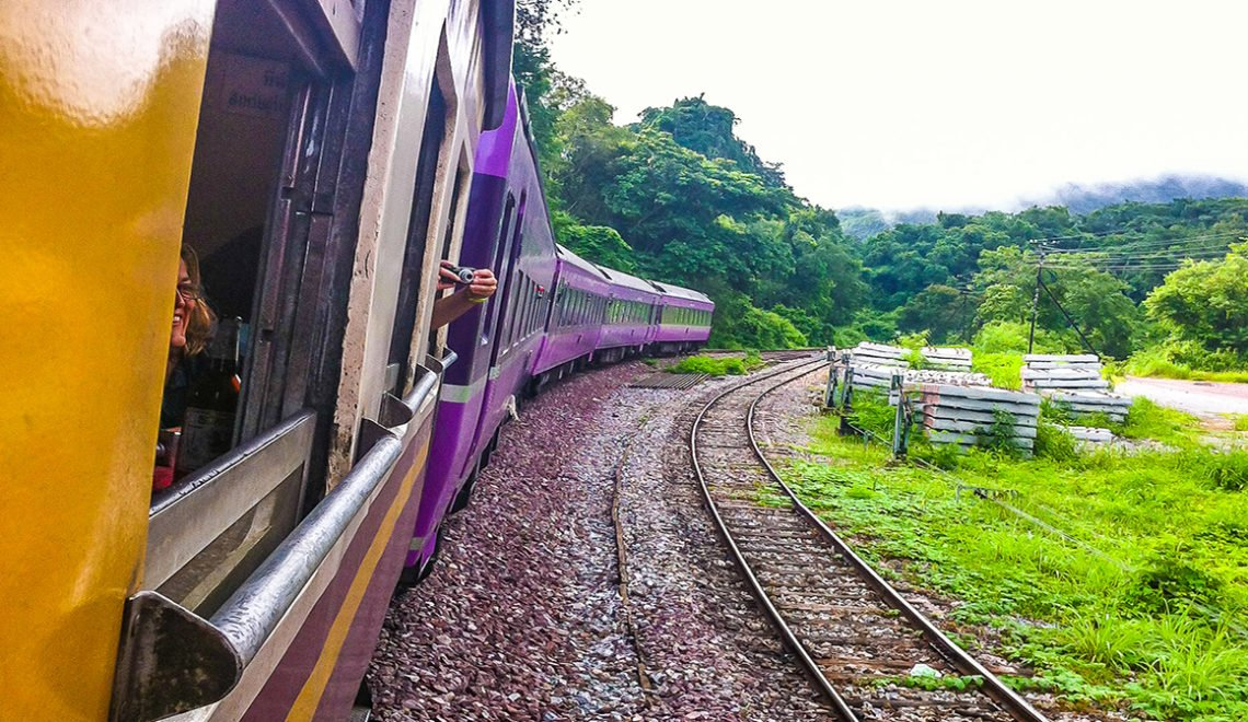 Night Train from Bangkok to Chiang Mai